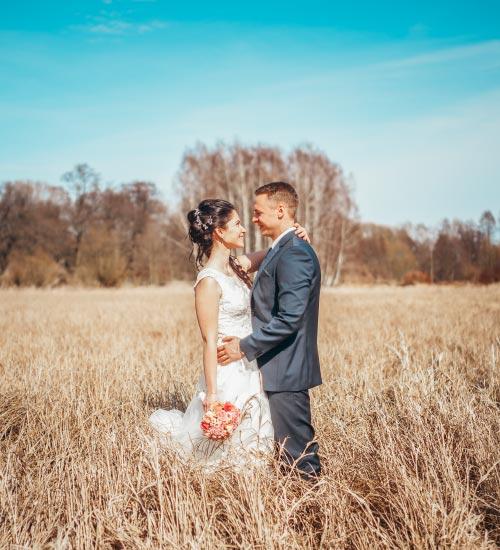 Brautpaarshooting im Fruehling