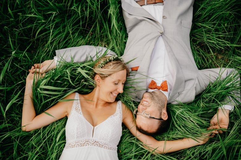 Brautpaarshooting verliebt