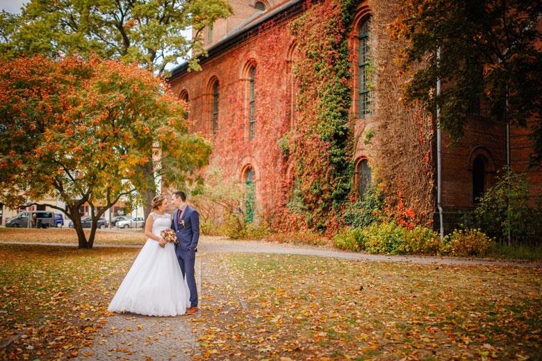 Heiraten im Herbst Laurentiuskirche