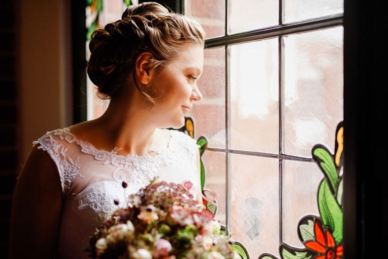 Heiraten im Herbst Portrait
