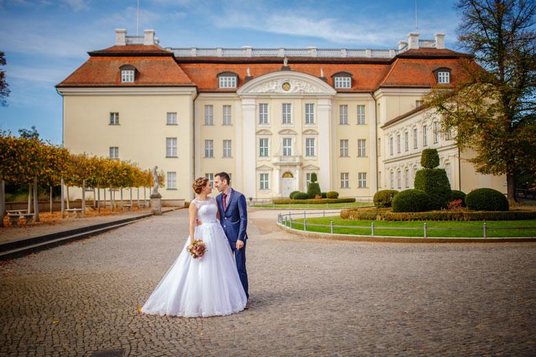 Heiraten im Herbst Schloss