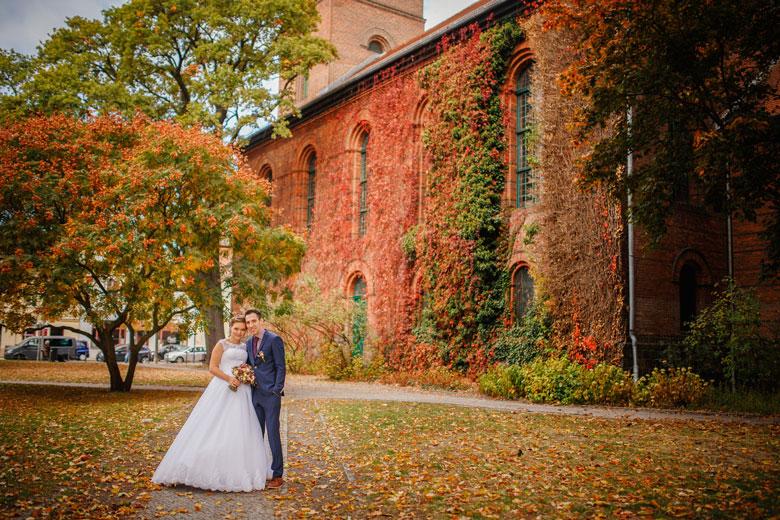 Heiraten im Herbst bunte Farben