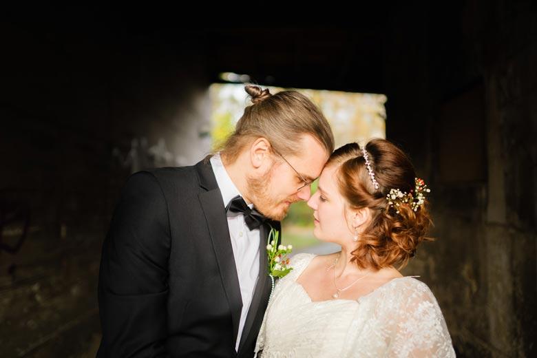 Heiraten in Köpenick Brautpaar