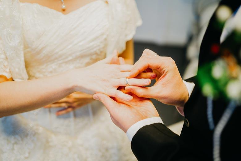 Heiraten in Köpenick Ringe tauschen