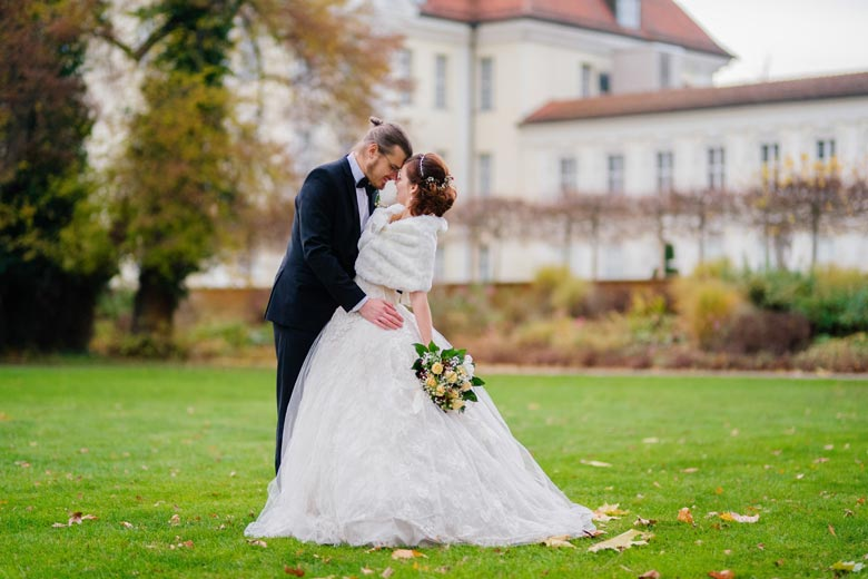 Heiraten in Köpenick Schlosspark