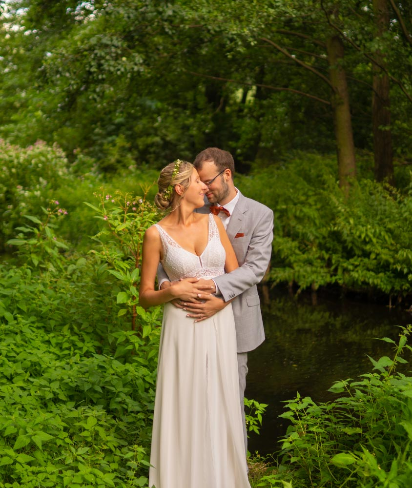 Hochzeitsfotograf Berlin Köpenick Brautpaarshooting