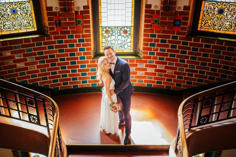 Hochzeitsfotos auf der Schlossinsel Berlin Köpenick Standesamt