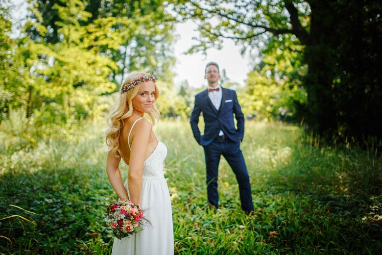 Hochzeitsfotos auf der Schlossinsel Berlin Köpenick
