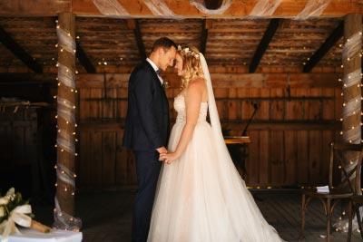 Hochzeitsfotos bei freier Trauung