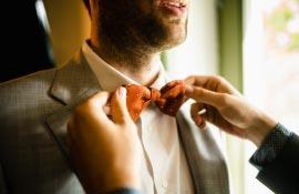Hochzeitsfotos getting ready