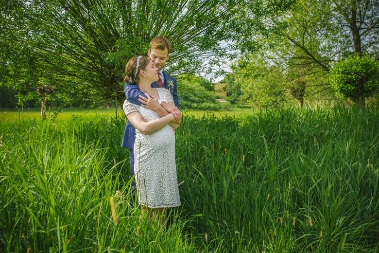 Hochzeitsfotos im Grünen Natur