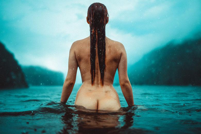 Regenshooting mit Helena Bun im Sommer